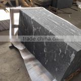 Chinese Nero Branco granite,Jet Mist black granite tiles
