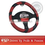 #19570 38cm diameter Genuine Leather Cool Steering wheel cover