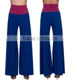 Gaucho Pants Wide Leg Flared Palazzo Yoga Womens Long Chic Flowy Boho High Waist Lounge Palazzo Trouser Pants