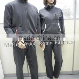 Merino Wool Knited Tracksuit For Women's and Men's,Training & Jogging Wear /Roma Fabrics