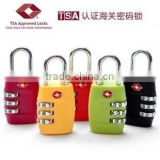 Travel Suitcase Lock Security Luggage Bag Password Padlock TSA Certification Conbination Baggage Locking