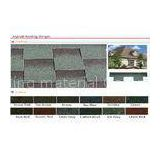 European Geothe 3-Tab Asphalt Shingles / Decoration Fiberglass roof tiles