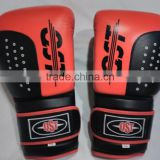 Leather Gel Boxing Gloves Fight,Punch Bag MMA Muay thai Grappling Pad Kick B