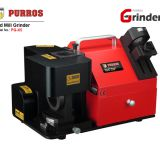 INquiry about PURROS PG-X5 end mill grinder, end mill sharpening machine, end mill sharpening service
