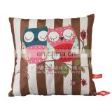 Wholesale square printed decorative throw cushion pillow