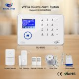 2019 Easily Control  WIFI+GSM/WIFI+WCDMA  home alarm system standby battery 24h home alarm system