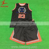 2017 Healong Sportswear Customized Team Custom Reversible Basketball Jerseys With Numbers Jersey Basketball Singlets