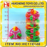 plastic colorful baby shakes bell plastic Baby Rattles