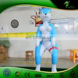 Adult Inflatable Hanging Cartoons Customized 3 D Cartoon Husky Inflatables Sexy Toy Hot Sex Girl