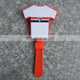 T shirt shaped mini plastic clapper