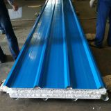 970 Insulation Board Metal Roofing Sheet Sandwich Panel Water Proof Sandwich Sheet Image
