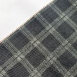 11oz Checkered Denim Jacquard Fabric Professional Supplier W278-1