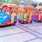 14 Seats Animal Train Funfair Rides Elephant Electric Track Train