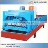 PPGI Metal Roofing Sheets & Step Tile Making Machine/Long Span and Step Roofing Sheets Cold Forming Machine