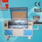 80watts GLC-1610 Feed fabric laser cutting machine for apparel and garment