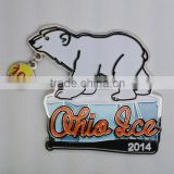 baseball lapel pins polar bear lapel pin custom lapel pins dangling lapel pin