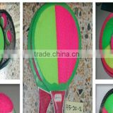 Hot New Products for 2016 China Market High Quality Wooden Beach Racket Set Beach Racket
