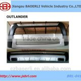 Car accessories Front and rear Bumper for MITSUBISHI Outlander