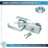 FT-039 single action sliding glass door key locks, frameless glass door lock