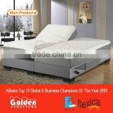 King Adjustable Electric Bed Frame Set Included Mattress and Bed Base - Easy for Home Setup