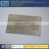 Customized high precision aluminum logo plate                                                                         Quality Choice