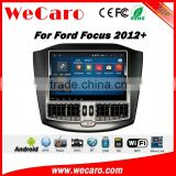 Wecaro WC-FF1212 10.2 inch android 4.4/5.1 Car DVD gps touch screen media for ford focus 2012 2013 2014 With Wifi 3G Playstore