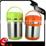 heating lunch tiffin box keep food hot stainless steel hot lunch box tiffin carrier with 1.5L
