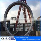 Steel forged wind power flange forgings