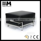 home furniture low price leather ottoman living room Corbusier lc3 ottoman