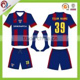 custom sublimated cheap soccer uniform team kids, soccer uniforms set for adult, soccer uniform polyester