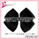 Factory direct wholesale hair accessories cheap bow hair clip,black bow tie
