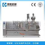 3-side sealed falt pouch filling packaging machineYF-180