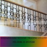 Antique Indoor Spiral Staircase Wrought Iron Spiral staircase railing
