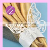 Wedding Supplier Laser Cut Wedding Party Decoration Wholesale Napkin Ring MJ-26