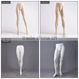 Half body display female or men cheap plastic jeans mannequin legs