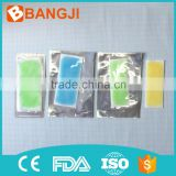 Chinese traditional instant physical fever reducing menthol cool gel patch hot cool gel pads