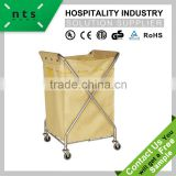 hotel guestroom laundry trolley