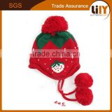 new winter crocheted beanie beard knitted baby hats