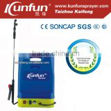 16L Hot item Knapsack rechargeable battery pump, electric sprayer for Agriculture farm &garden(KF-16C-12)