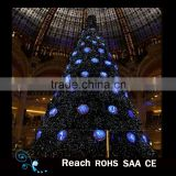 Giant LED lighting Christmas tree for outdoor decoration light artificial christmas tree christmas decoration
