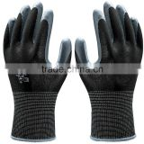 Hot sale gardening glove with good quality latex palm coated cotton work glove wholesale GL2074