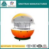 2016 hot selling mobile outdoor Fruit orange Juice shaped food cart price