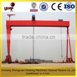drawing customized l type gantry crane with hook