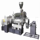 Price Of SP Two-Stage Metal Plastic Sheet Extrusion MachineSmall Two Stage Recycled WPC Plastic Pelletizer Extruder Machine Line