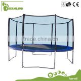 Top quality round 10ft Gymnastic outdoor Trampoline with safety Enclosure                                                                         Quality Choice
