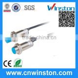 Metal housing inductive proximity sensor switch nonflush installation with 2m cable