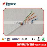 24 years factory twisted 4 pairs category 5 telephone cable