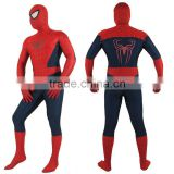 Newest Design Adult Men Comic Spiderman Bodysuit Spider Web Jumpsuit Breathable Zentai Catsuit For Halloween Christmas Cosplay