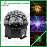 Lowest Price and High Quality RGB Mini LED thunder Crystal disco Ball, Professional LED Music Crystal Ball Light
