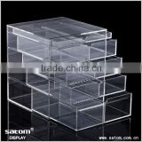 Professional Manufacturer 4 Clear Drawer Acrylic Makeup Organizer